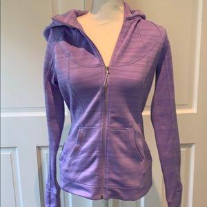Athleta zip up sweatshirt with hood